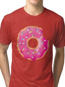 Pink Molly Donut Tri-blend T-Shirt