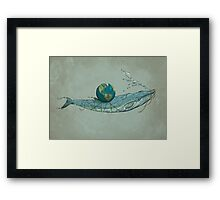 Save the Planet II Framed Print