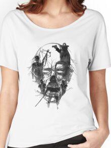 Walking face Women's Relaxed Fit T-Shirt