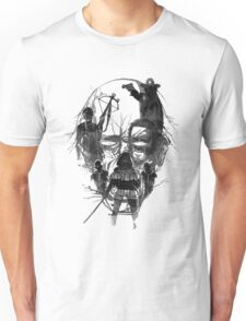 Walking face Unisex T-Shirt