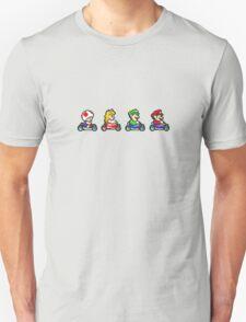 Kart Racing - Mario Kart 16bit T-Shirt