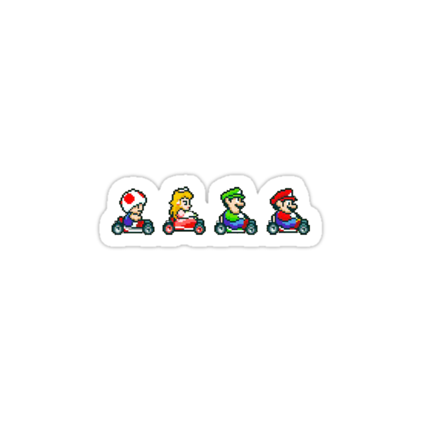 Kart Racing - Mario Kart 16bit by Ryan Wilson