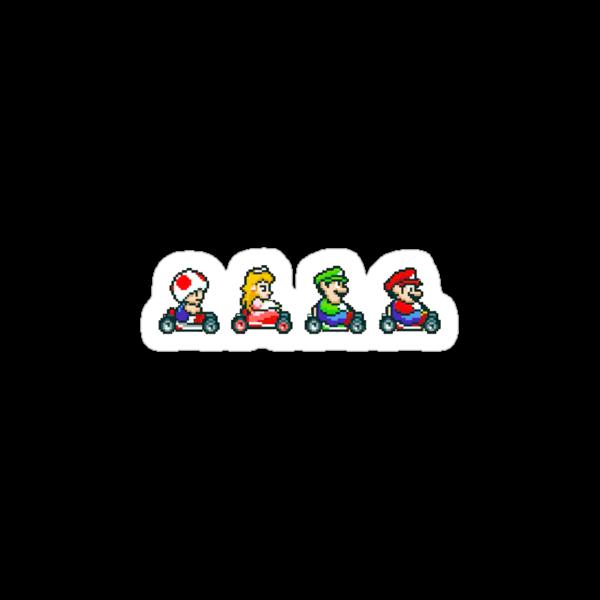 Kart Racing - Mario Kart 16bit by Ryan Wilson
