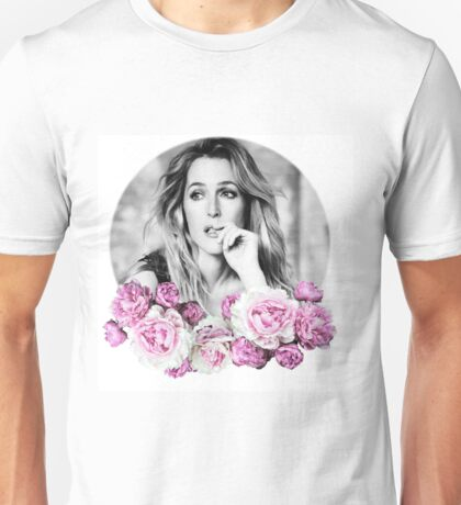 Gillian Anderson - Flower Queen Unisex T-Shirt