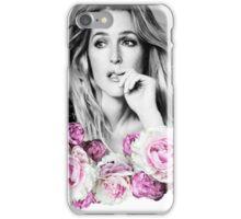 Gillian Anderson - Flower Queen iPhone Case/Skin