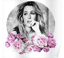 Gillian Anderson - Flower Queen Poster