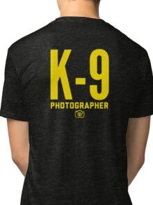 K-9 Photographer Tri-blend T-Shirt