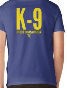 K-9 Photographer Mens V-Neck T-Shirt