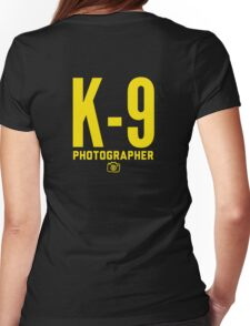 K-9 Photographer Womens Fitted T-Shirt