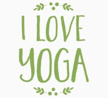 I love YOGA One Piece - Short Sleeve