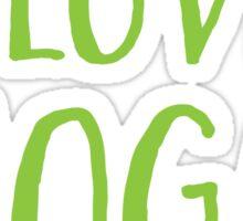 I love YOGA Sticker