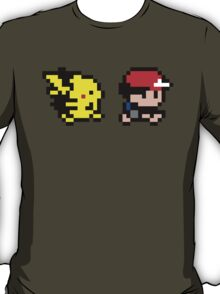 Ash and Pikachu T-Shirt