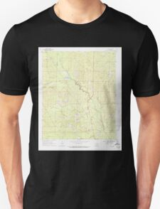 USGS TOPO Map Arkansas AR Ivan 258811 1969 24000 Unisex T-Shirt