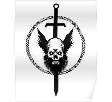 Skull & Sword Poster