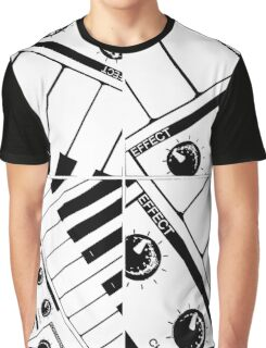 Abstract Synth Keyboard  Graphic T-Shirt