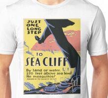 Vintage poster - Sea Cliff Unisex T-Shirt