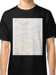 USGS TOPO Map Arkansas AR Round Pond 259531 1984 24000 Classic T-Shirt