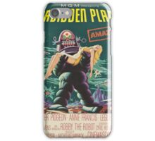 Vintage poster - Forbidden Planet iPhone Case/Skin