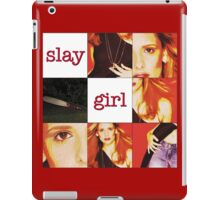 """Slay Girl"" - Buffy the Vampire Slayer iPad Case/Skin"