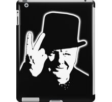 V sign, Victory, 1943, WWII, Winston, Churchill, British prime minister,  iPad Case/Skin