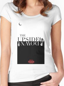 The Upside Down - Stranger Things Women's Fitted Scoop T-Shirt