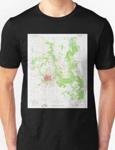 USGS TOPO Map Arkansas AR De Witt 258321 1968 24000 Unisex T-Shirt