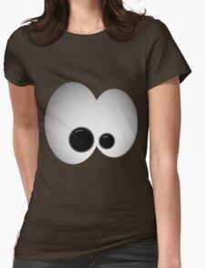 Crazy eyes Womens Fitted T-Shirt