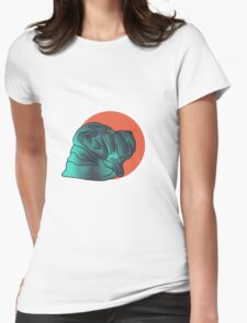 Young Robin Womens Fitted T-Shirt