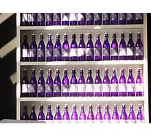 Wow bottles Photographic Print