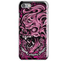 Pink skull iPhone Case/Skin