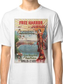 Vintage poster - Free Harbor Jubilee Classic T-Shirt