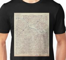 USGS TOPO Map Arkansas AR Gurdon 260489 1901 125000 Unisex T-Shirt