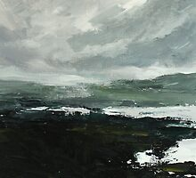 Grey Day on the Moor by Terence  Kelly