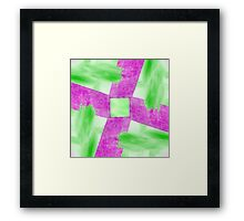 Abstract Wall and Sky Framed Print