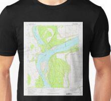 USGS TOPO Map Arkansas AR Council 258261 1981 24000 Unisex T-Shirt