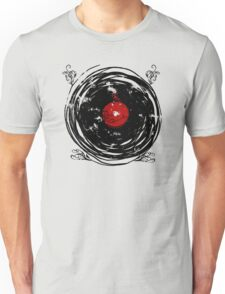 Enchanting Vinyl Records Vintage Twirls Unisex T-Shirt