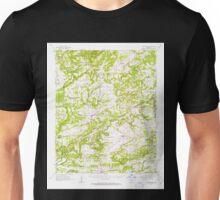 USGS TOPO Map Arkansas AR Bee Branch 259993 1961 62500 Unisex T-Shirt
