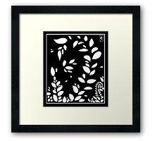 Leaf Aesthetic Framed Print
