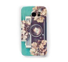 Camera & Hydrangea Samsung Galaxy Case/Skin