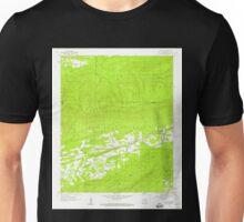 USGS TOPO Map Arkansas AR Cauthron 258154 1958 24000 Unisex T-Shirt