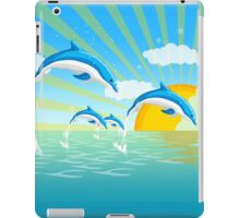 Dolphins in the Sea iPad Case/Skin