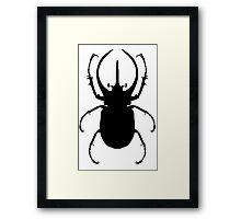 Escarabajo Framed Print