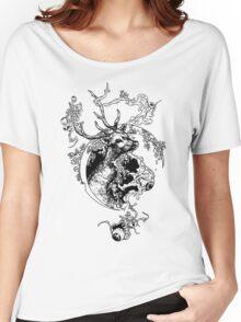 Deer Women's Relaxed Fit T-Shirt