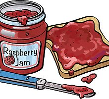 Jam and Bread by ImagineThatNYC