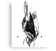 Moon Bird Canvas Print