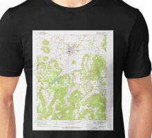 USGS TOPO Map Arkansas AR Prairie Grove 259449 1970 24000 Unisex T-Shirt