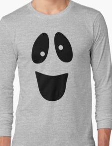 Funny Ghost Face Halloween Long Sleeve T-Shirt