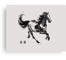 the galloping horse Canvas Print