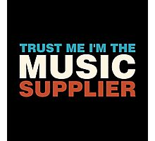 Colorful music supplier Photographic Print