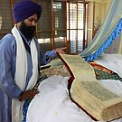 Very Old Sikh Book. by Andrew  Makowiecki